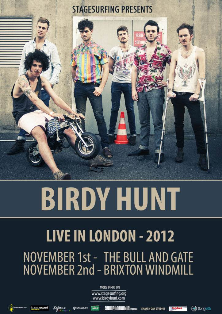 cover birdy hunt in London 2012
